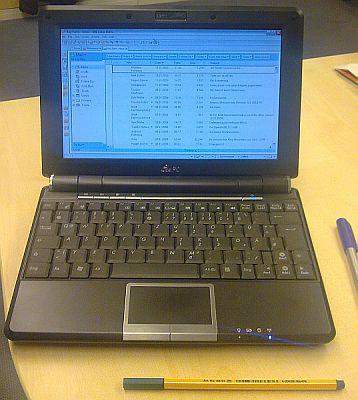 IBM Lotus Notes auf meinem EEE Pc 1000h